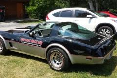 Bob hanaburgh's 1976? Corvette Indy Pace Car