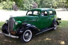Charlie' MacDonald's 1936 Buick