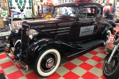 Greg & Laura's 1934 Chevy rumble seat roadster