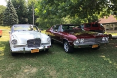 Owen & Linda's Studebaker  Herb Lorenz' Chevelle