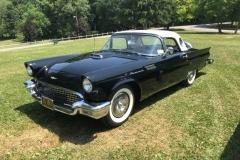 Bruce & Muriel Anderson's 1957 Thunderbird