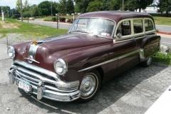 "Nat & Helen Daws' 1953 Pontiac ""woody"" wagon"